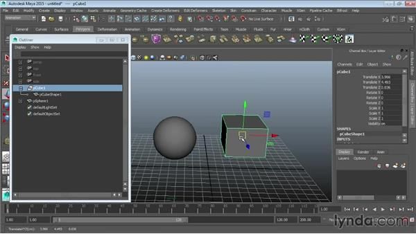 Animating with constraints: Maya 2015 Essential Training