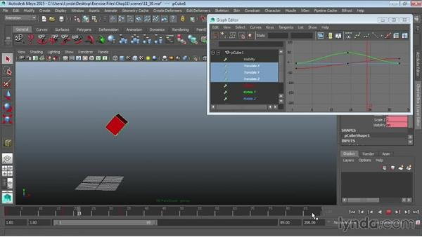 Creating animation cycles: Maya 2015 Essential Training