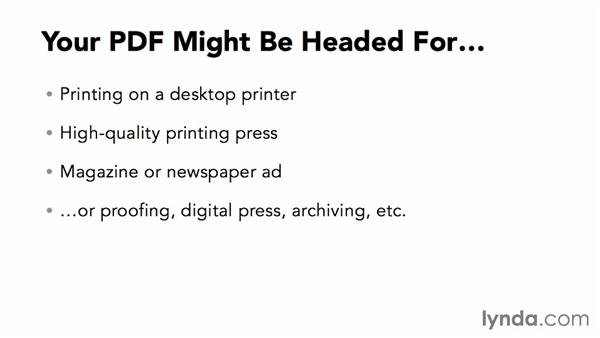 Where is your PDF going?: InDesign Insider Training: Print PDFs