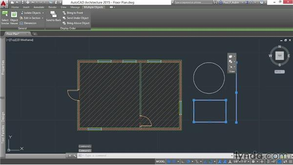 Understanding selection and modifying basics: AutoCAD Architecture Essential Training