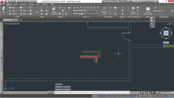 Setting wall properties and styles: AutoCAD Architecture Essential Training