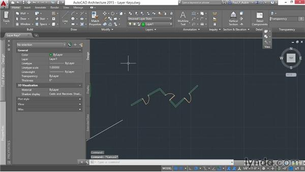 Understanding layer keys: AutoCAD Architecture Essential Training