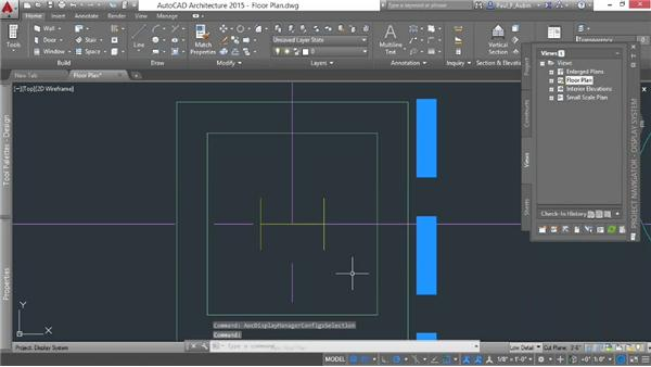 Understanding the architectural display: AutoCAD Architecture Essential Training