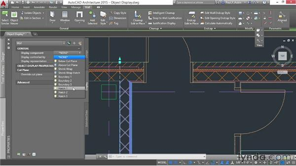 Customizing display components: AutoCAD Architecture Essential Training