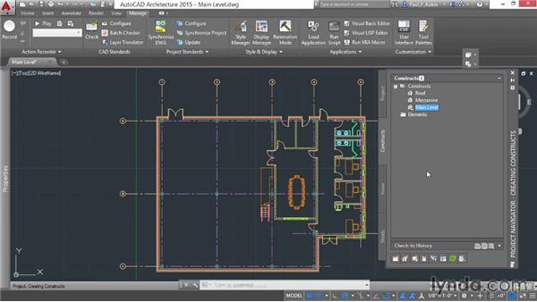 Adding constructs: AutoCAD Architecture Essential Training