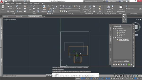 Adding elements: AutoCAD Architecture Essential Training