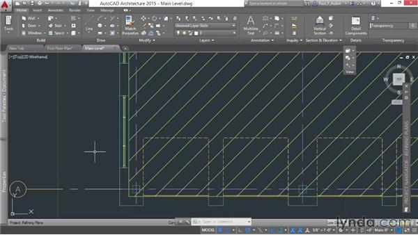 Refining a floor plan: AutoCAD Architecture Essential Training