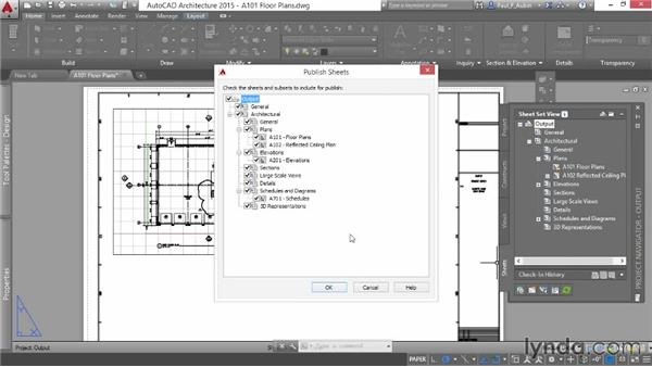 Exporting to DWF or PDF: AutoCAD Architecture Essential Training