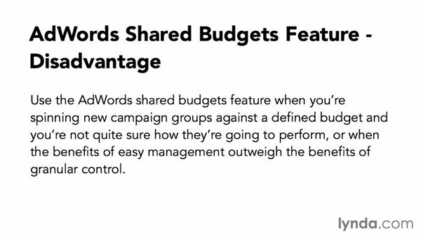 Using shared budgets: Advanced Google AdWords Tips and Tricks