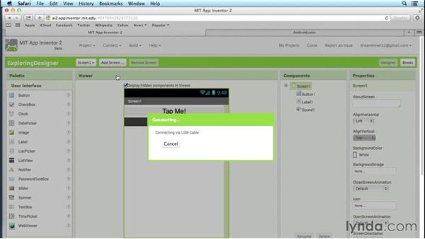 Testing App Inventor 2 on an Android device: Simple Android Development Tools