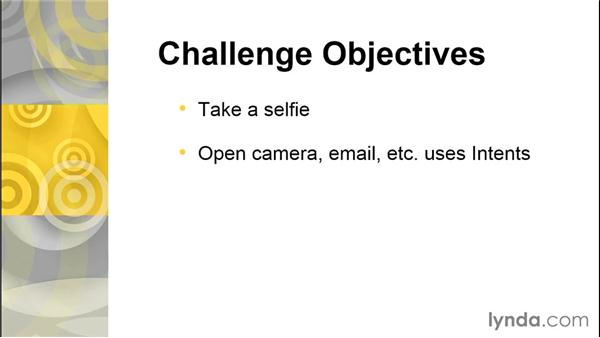 Challenge: Take a selfie when you win: Simple Android Development Tools
