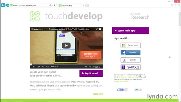 Getting in touch with TouchDevelop: Simple Android Development Tools