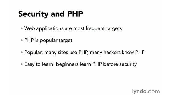 Security and PHP: Creating Secure PHP Websites