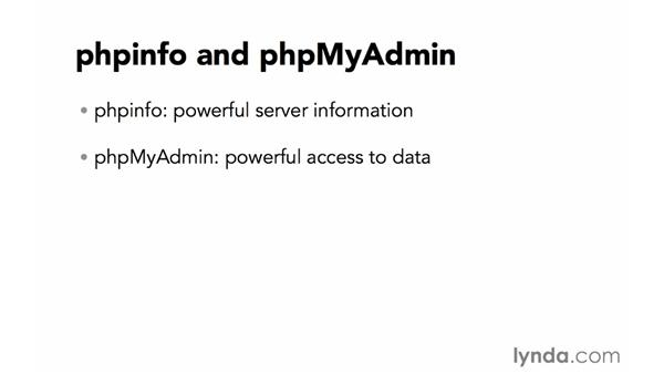 phpinfo and phpMyAdmin: Creating Secure PHP Websites