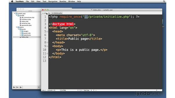 Keeping code private: Creating Secure PHP Websites
