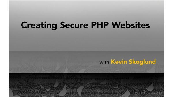 Next steps: Creating Secure PHP Websites