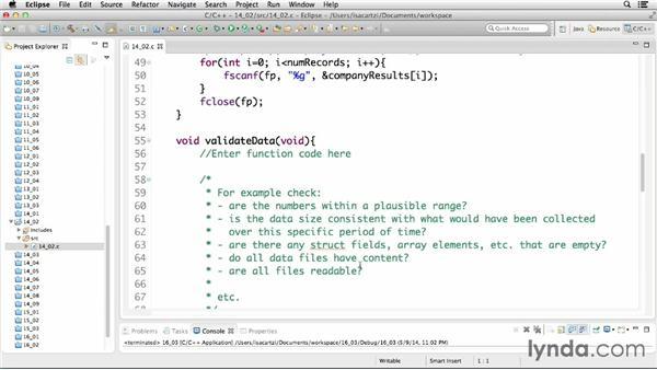 Introducing functional programming: C Essential Training
