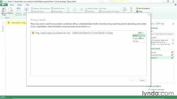 Appending queries: Power BI Features in Depth