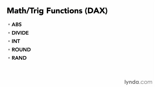Understanding DAX functions in Power Pivot: Power BI Features in Depth
