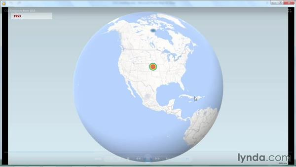 Saving a Power Map video: Power BI Features in Depth
