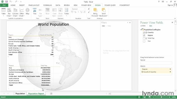 Adding data to a visualization: Power BI Features in Depth