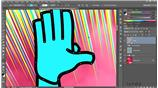 Image for Converting the hand path to a shape layer