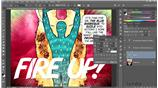 Image for Stylizing the custom font in Photoshop