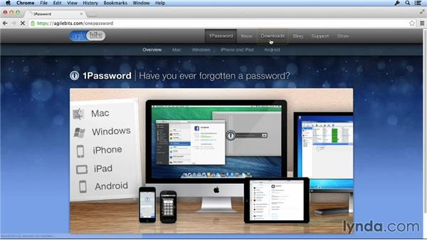 Setting up browser extensions: 1Password Fundamentals