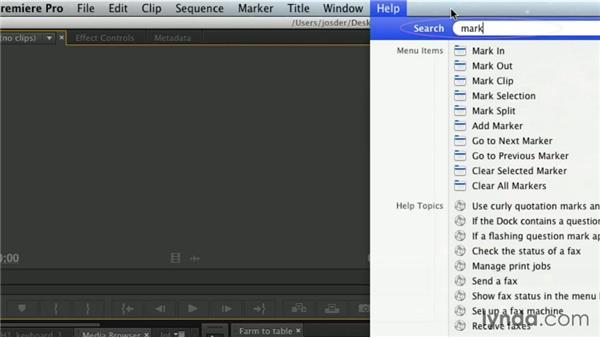 Learning new shortcuts: Premiere Pro Guru: Essential Keyboard Shortcuts