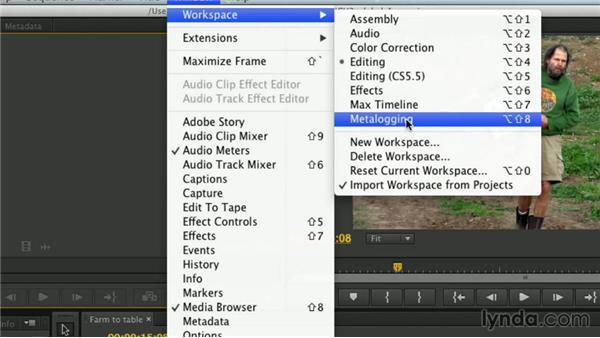 Workspace shortcuts: Premiere Pro Guru: Essential Keyboard Shortcuts
