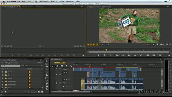 Creating a new project: Premiere Pro Guru: Essential Keyboard Shortcuts
