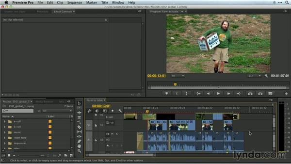 Exporting a movie: Premiere Pro Guru: Essential Keyboard Shortcuts