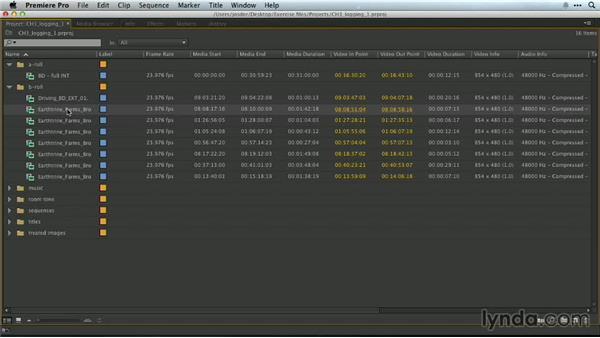 Logging: Premiere Pro Guru: Essential Keyboard Shortcuts