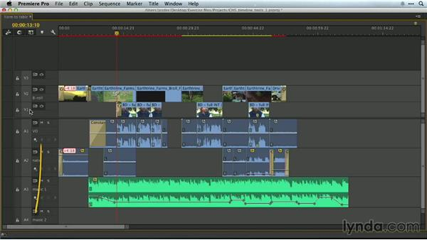 Moving between edits on the Timeline: Premiere Pro Guru: Essential Keyboard Shortcuts