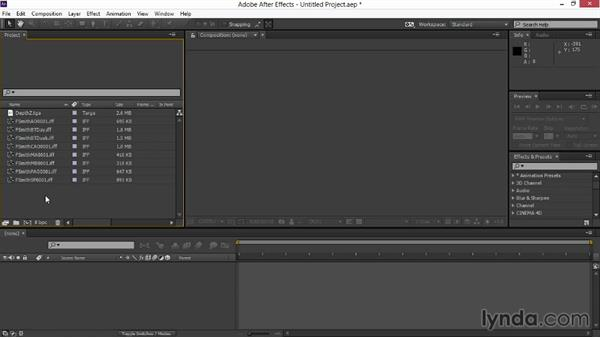 Importing the imagery and arranging the layers: Rendering Exteriors in Maya