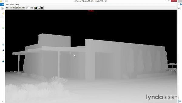 Adding depth of field: Rendering Exteriors in Maya