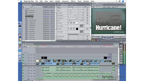 Tricks with Outline Text: Final Cut Pro 5 Essential Effects