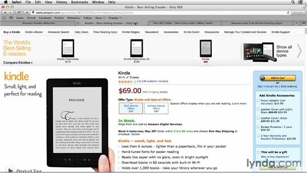 Choosing a Kindle device: Up and Running with Kindle