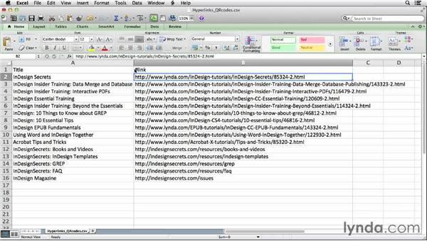 Adding QR codes