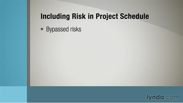 Incorporating risk management into reporting: Managing Project Risk