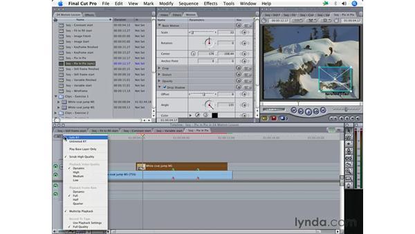 Demystifying rendering: Final Cut Pro 5 Essential Effects