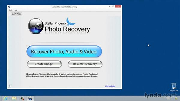 Recovering photos using a Windows computer: Recovering Photos from Memory Cards