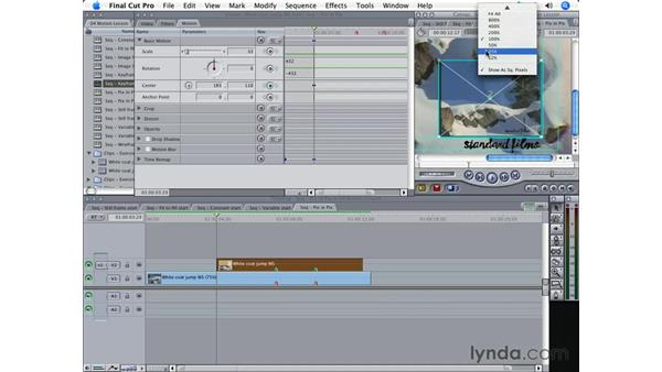 Moving images with Motion Paths and Keyframes: Final Cut Pro 5 Essential Effects