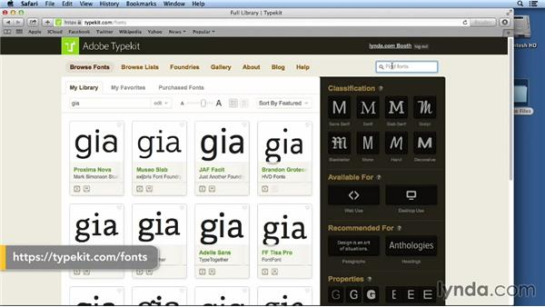 Using the exercise files and fonts: Layout and Composition with InDesign