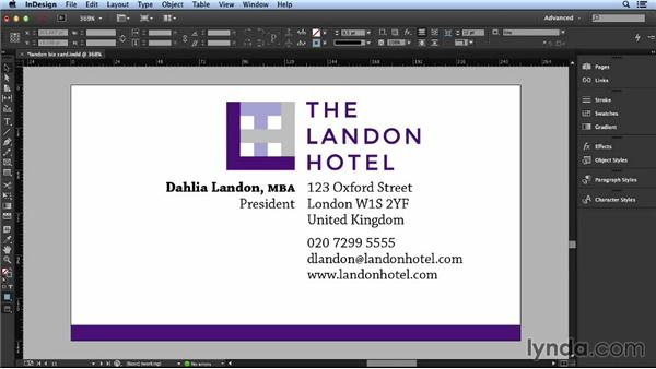Exploring alignment and repetition: Layout and Composition with InDesign