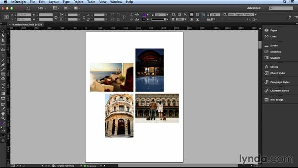 Determining a cohesive layout: Layout and Composition with InDesign