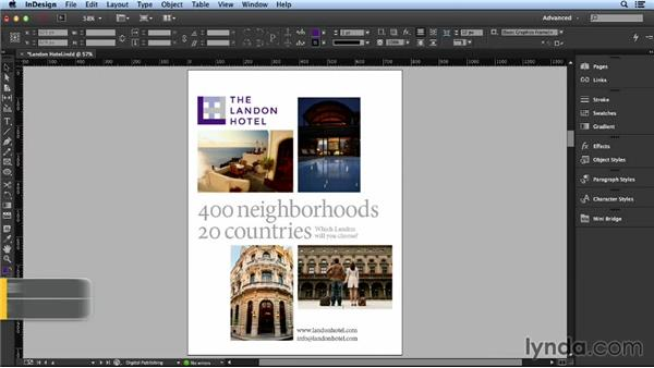 Exploring different configurations: Layout and Composition with InDesign