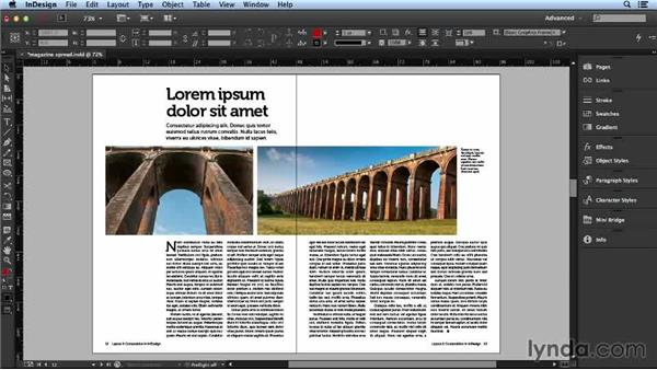 Integrating white space: Layout and Composition with InDesign
