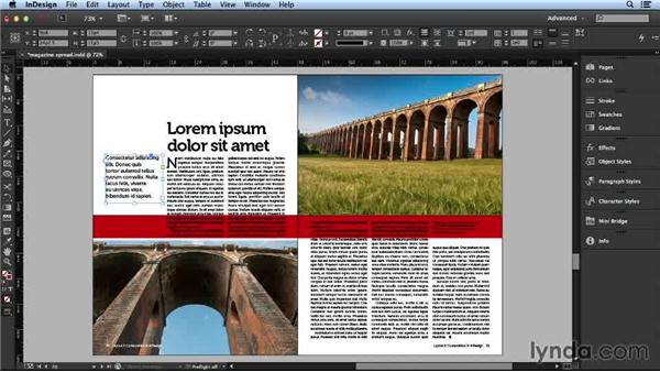 Finding more ways to utilize white space: Layout and Composition with InDesign