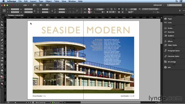 Working with a feature article: Layout and Composition with InDesign